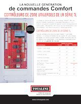 Indoor Air Quality: TL Series Zoning Controllers & Dampers français