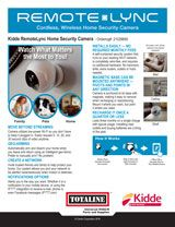 Safety: Kidde Remote Lync Camera