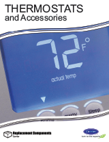 Thermostats: Carrier Thermostats & Accessories