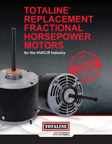 Motors: Replacement Fractional Horsepower Motors