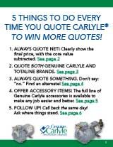 Genuine Carlyle & Totaline Remanufactured Compressors SELLING GUIDE