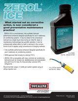 Chemicals: Zerol® Ice