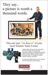 Compressors: Worth a Thousand Words Poster