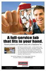 System Components: A full-service lab that fits in your hand.