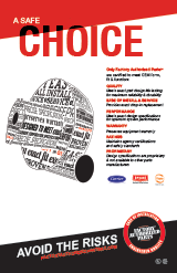 Inducer Motor: A Safe Choice Poster