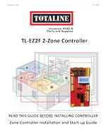 Indoor Air Quality: TL-EZ2F 2-Zone Controller Installation Guide