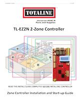 Indoor Air Quality: TL-EZ2N 2-Zone Controller Installation Guide