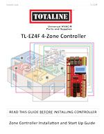 Indoor Air Quality: TL-EZ4F 4-Zone Controller Installation Guide