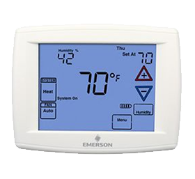 "Emerson Blue™ Series 12"" Touchscreen Thermostats"