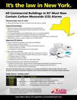 Safety: NY Carbon Monoxide Legislation