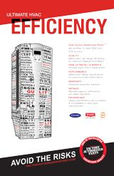 Commercial: Ultimate HVAC Efficiency Poster