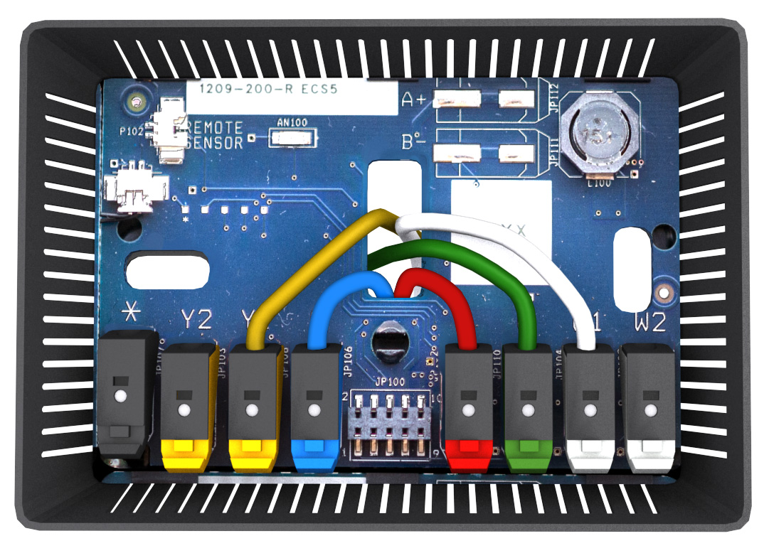 Iaq Thermostat Wiring Diagram Along With 5 Wire Thermostat Wiring